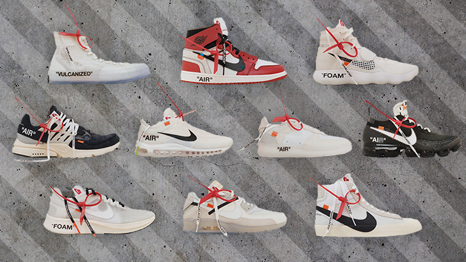 Dropping Today: Nike x Virgil Abloh's 'The Ten' Releases at