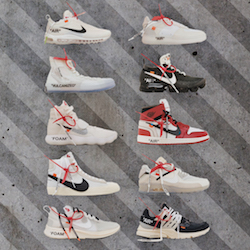 Dropping Today: Nike x Virgil Abloh's 'The Ten' Releases at Nike.com