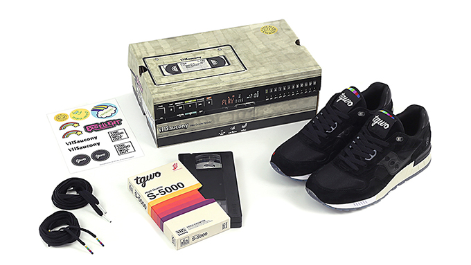 Good Will Out x Saucony Shadow 5000 VHS