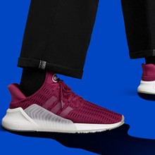 los angeles 97d23 89465 adidas Originals ClimaCool 0217 lands in Mystery Ruby  Collegiate Blue.  August 4th, 2017 ...