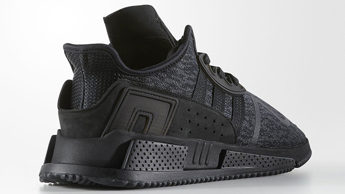 online store 88901 22104 adidas Originals Tease the EQT Cushion ADV in Triple Black ...