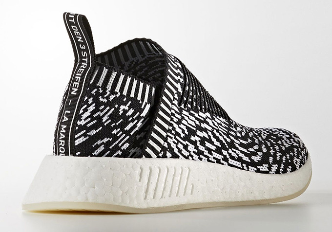 59769a3b4028d The adidas Originals NMD City Sock 2 + NMD R1 PK Are Given a Zebra ...