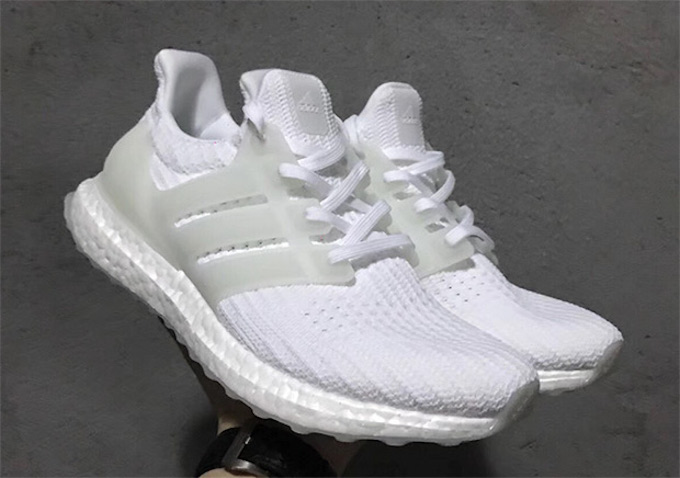 c01a7e465ac86 Glow Up  adidas Ultra Boost 4.0 Triple White - The Drop Date