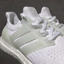 76b6f804f3f3 Glow Up  adidas Ultra Boost 4.0 Triple White