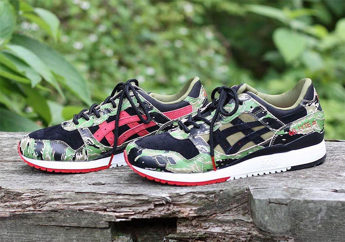 f8e78297d2bc8 ASICS Tiger x atmos Add a Tiger Camo Gel-Lyte III to Their Collab ...
