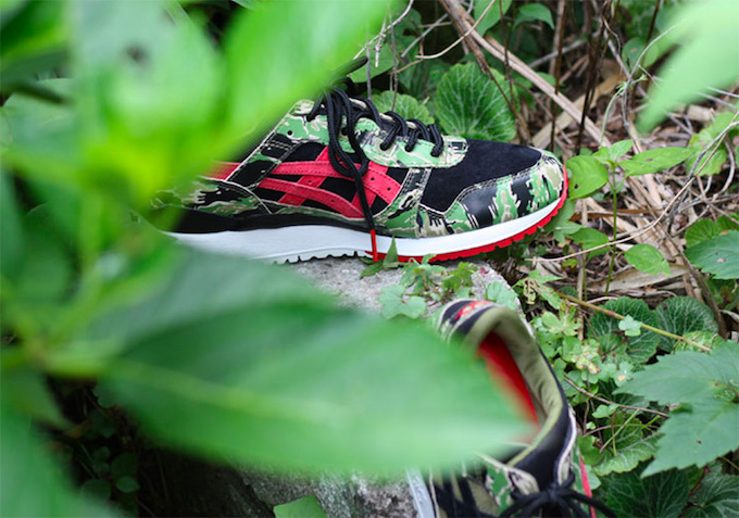 ASICS Tiger x atmos Add a Tiger Camo Gel-Lyte III to Their Collab ... 1a02d1772