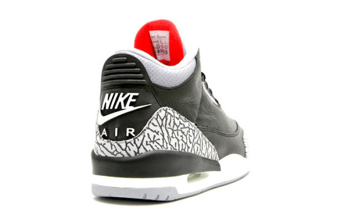 20ee82b3e2ea85 Is It Finally Time for the Nike Air Jordan 3 Retro OG Black Cement to Make  a Comeback