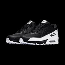 3168d63aa0302 Keep Things Black and White with the Nike Air Max 90 Essential