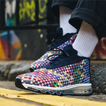info for a5ad4 7c727 Nike Air Max Woven Boot Multicolour  On-Foot Shots