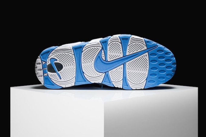 The Nike Air More Uptempo Gets A Blast Of Baby Blue The