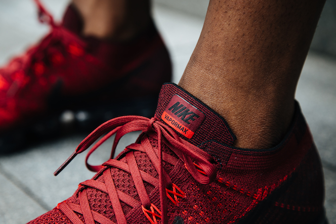 separation shoes 59f36 12506 VaporMax Flyknit Deep Red