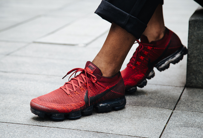 VaporMax Flyknit Deep Red. The devilishly good NIKE AIR ...