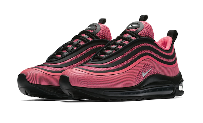 huge selection of 34299 7fb56 Nike Air Max 97 Ultra Infrared Black