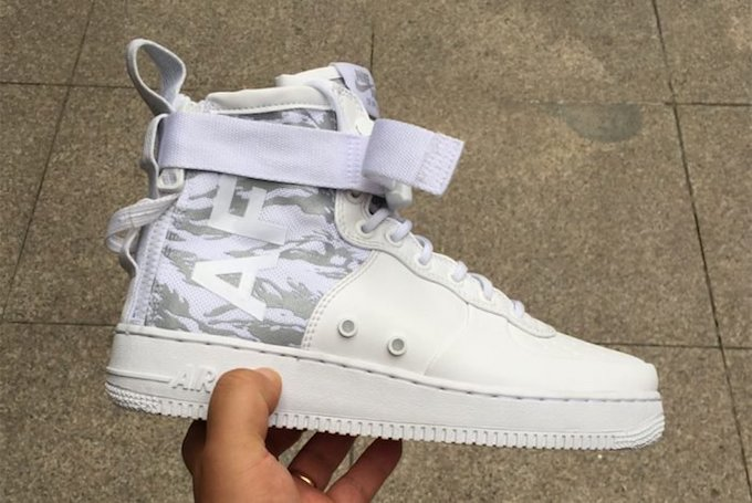 The Nike SF AF 1 Mid Could Soon Be Landing in White Tiger
