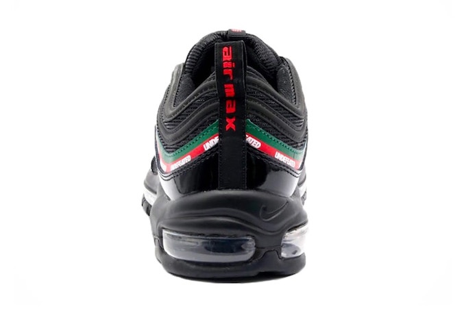best sneakers fa240 10584 Gucci Stripes: Undefeated Nike Air Max 97 - The Drop Date