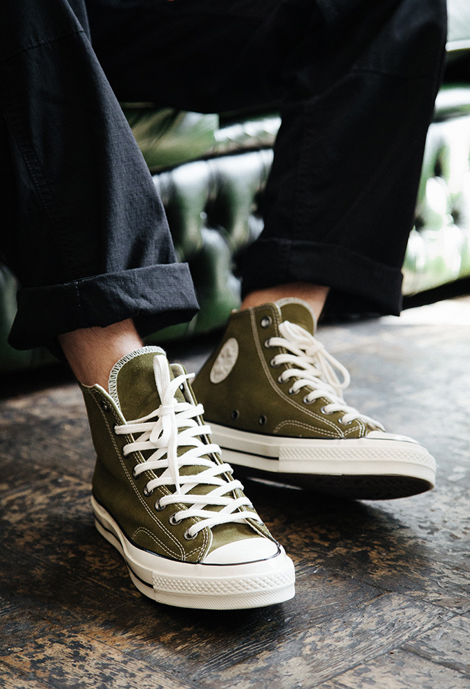 bb1bffd9ec420 Converse Custom Chuck Taylor All Star '70: On-Foot Shots - The Drop Date