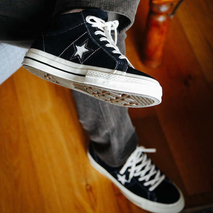 Converse One Star Mid Vintage Suede: On