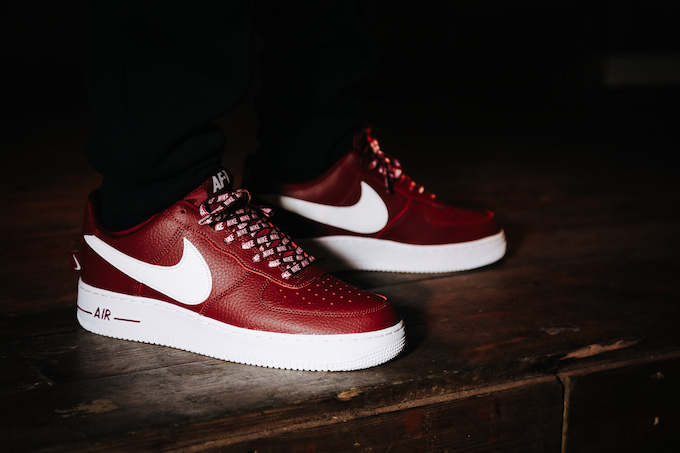 9c5266ba3d0e2 Nike Air Force 1 Statement Game Pack: On-Foot Shots - The Drop Date