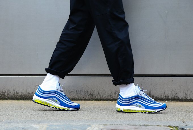 nike air max 97 atlantic blue on foot