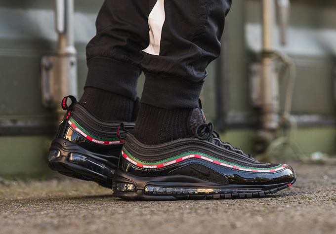 official photos ba2d1 3f066 Nike Air Max 97 OG Undefeated: On-Foot Shots - The Drop Date