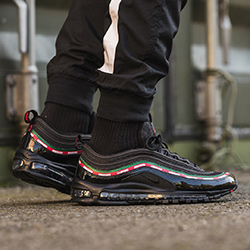 abd4d3d4c0f140 Nike Air Max 97 OG Undefeated  On-Foot Shots - The Drop Date