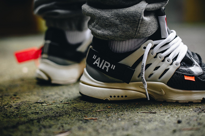 Nike Air Presto x Virgil Abloh: On Foot Shots The Drop Date