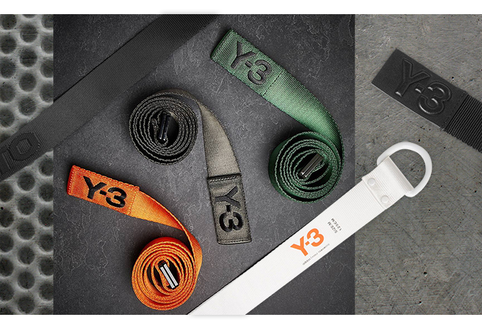 Belt up  the ADIDAS Y-3 FW17 ACCESSORIES RANGE is here - The Drop Date dd8f4c6ea4bb5