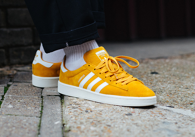 Adidas Originals Campus sneakers - Yellow & Orange adidas Hr4AGo