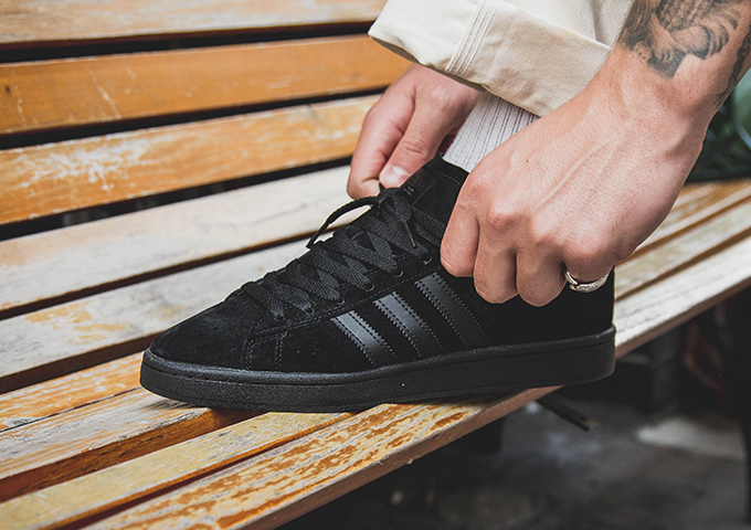 adidas Originals Campus Triple Black