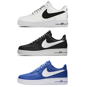 43a53b02bab5b Nike Air Force 1 Low - NBA Pack - AVAILABLE NOW - The Drop Date