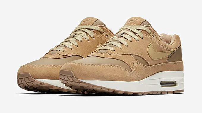 info for 32299 e8fe4 Aim High with the Nike Air Max 1 Premium Khaki Mushroom