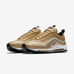b1b4bbc1 Going for Gold: Nike Air Max 97 Ultra 17 Metallic Gold