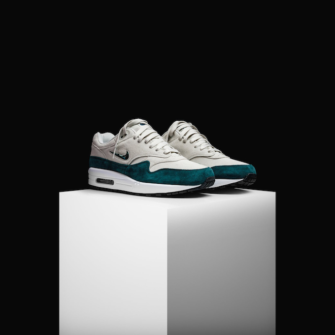 6df93952d Nike Tease the Air Max 1 SC Jewel in Atomic Teal - The Drop Date