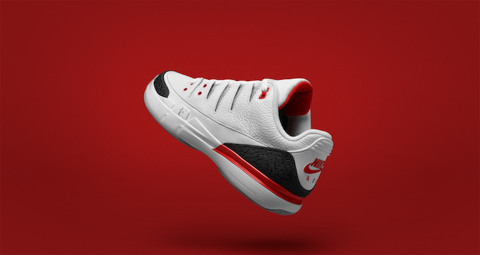 fd4f69dc17ee The NIKECOURT ZOOM VAPOR RF X AJ3 FIRE RED sees the masters of two very  different courts join forces to serve up the ultimate co-branded  performance shoe.