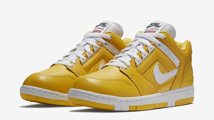 The Supreme X Nike SB Air Force 2 Gets an Official Nike