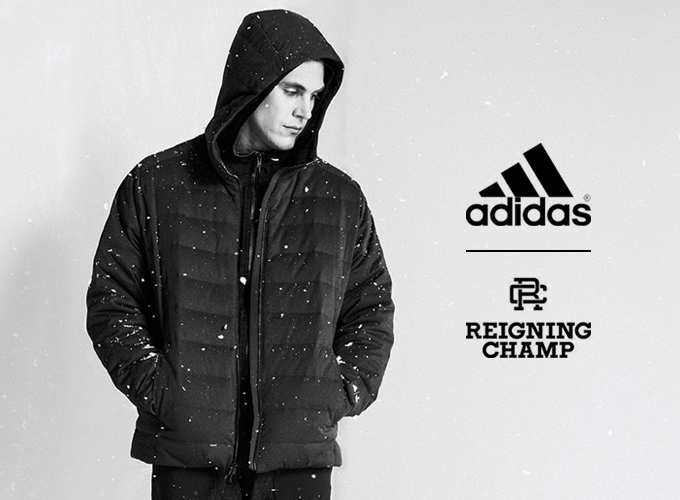 6eb45b6951bc Winter workouts  the ADIDAS ATHLETICS X REIGNING CHAMP FW17 ...
