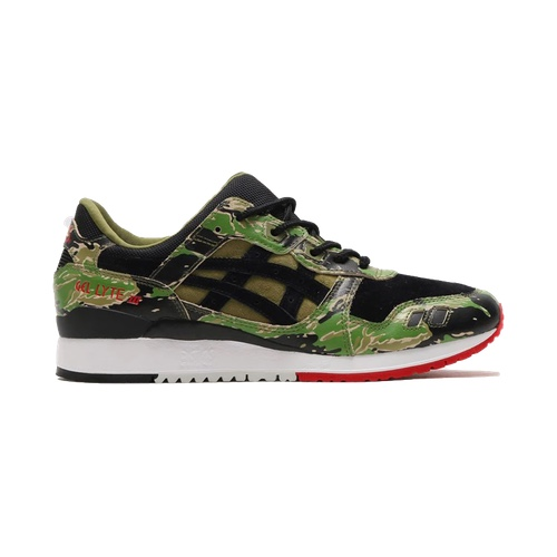 info for bdf53 cb31b Asics Tiger x Atmos Gel Lyte 3 - Green Camo - AVAILABLE NOW