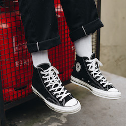 9b0f6484dc2d8b Converse Chuck Taylor All-Star 70 Vintage Suede  On-Foot Shots - The Drop  Date