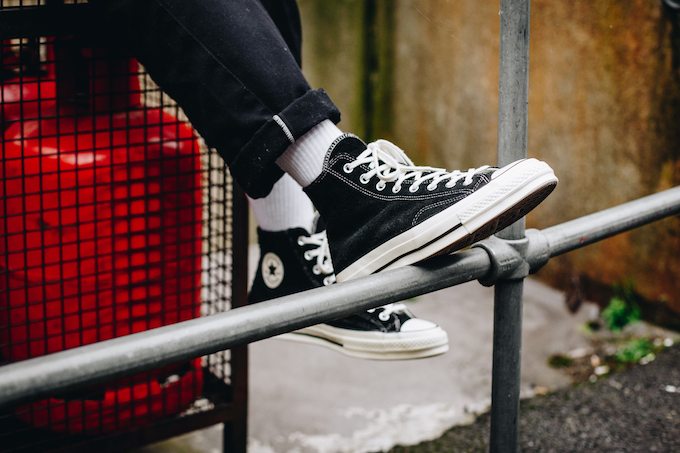 e1b2f9e9b4d7 The CONVERSE CHUCK TAYLOR ALL-STAR 70 VINTAGE SUEDE is AVAILABLE NOW  shop  this style and more of the latest product from CONVERSE by following the  banner ...