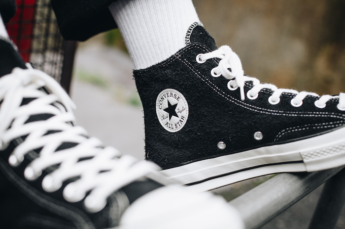 dbdb8fb800628b The CONVERSE CHUCK TAYLOR ALL-STAR 70 VINTAGE SUEDE is AVAILABLE NOW  shop  this style and more of the latest product from CONVERSE by following the  banner ...
