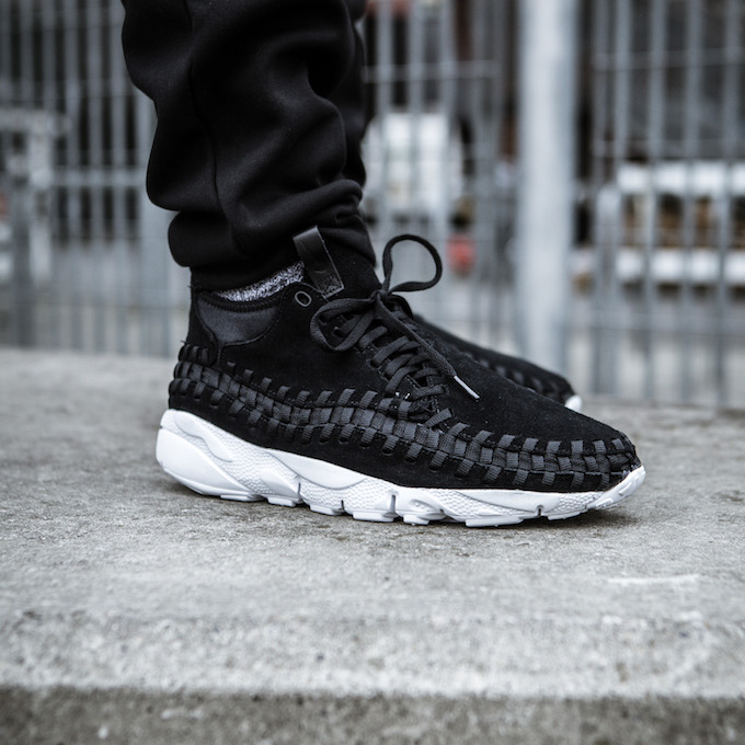 uk availability ee2b5 3c266 Nike Air Footscape Woven Chukka: On-Foot Shots - The Drop Date