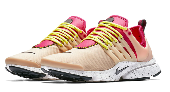 Nike Air Presto Ultra SI Mushroom Black Bright Cactus Deadly Pink
