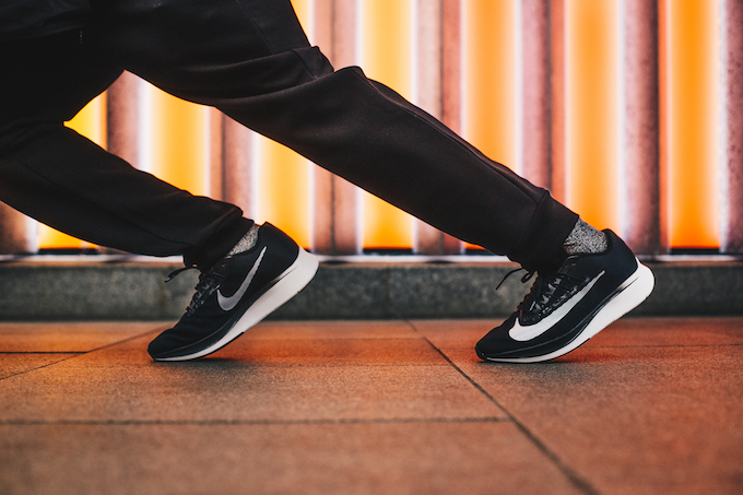 e43293cb2dc8 Nike Zoom Fly  On-Foot Shots - The Drop Date