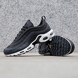 Cheap Nike Air Max 97 OG Junior BlackPink Kids Bluewater Â