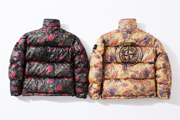 take a look at every piece from the supreme x stone island. Black Bedroom Furniture Sets. Home Design Ideas