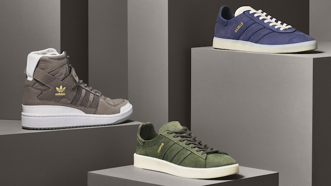 Available Now: The adidas Originals Crafted Pack The Drop Date