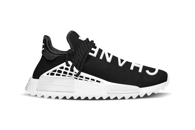 Chanel x Pharrell Williams x adidas NMD Hu Trail