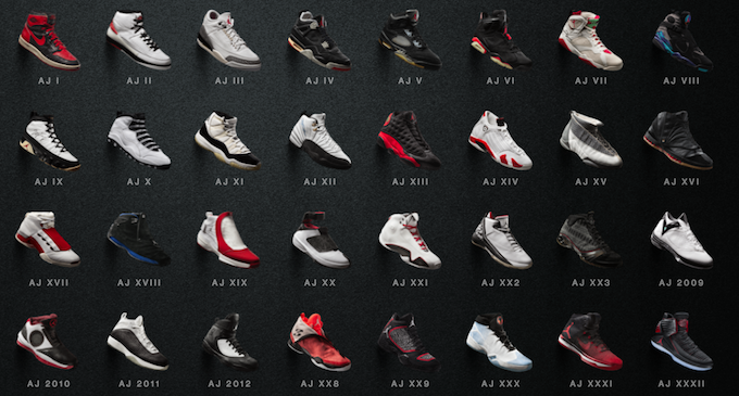 Check Out The Entire Nike Air Jordan Collection Here