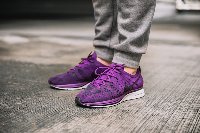 326690896c43 Nike Flyknit Trainer Night Purple  On-Foot Shots by OVERKILL - The ...