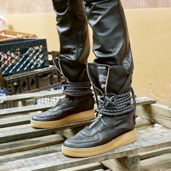 Winter Ready Nike Af 1 Lf Duckboot And Af 1 Sf High The